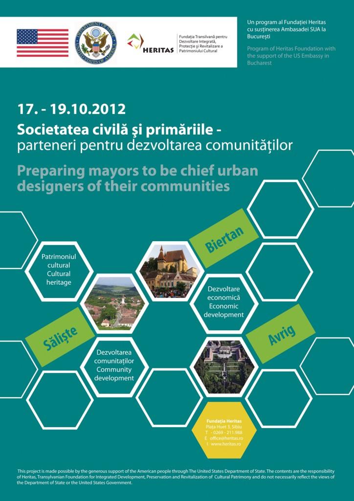 Societatea civilă şi primăriile - parteneri pentru dezvoltarea comunităţilor