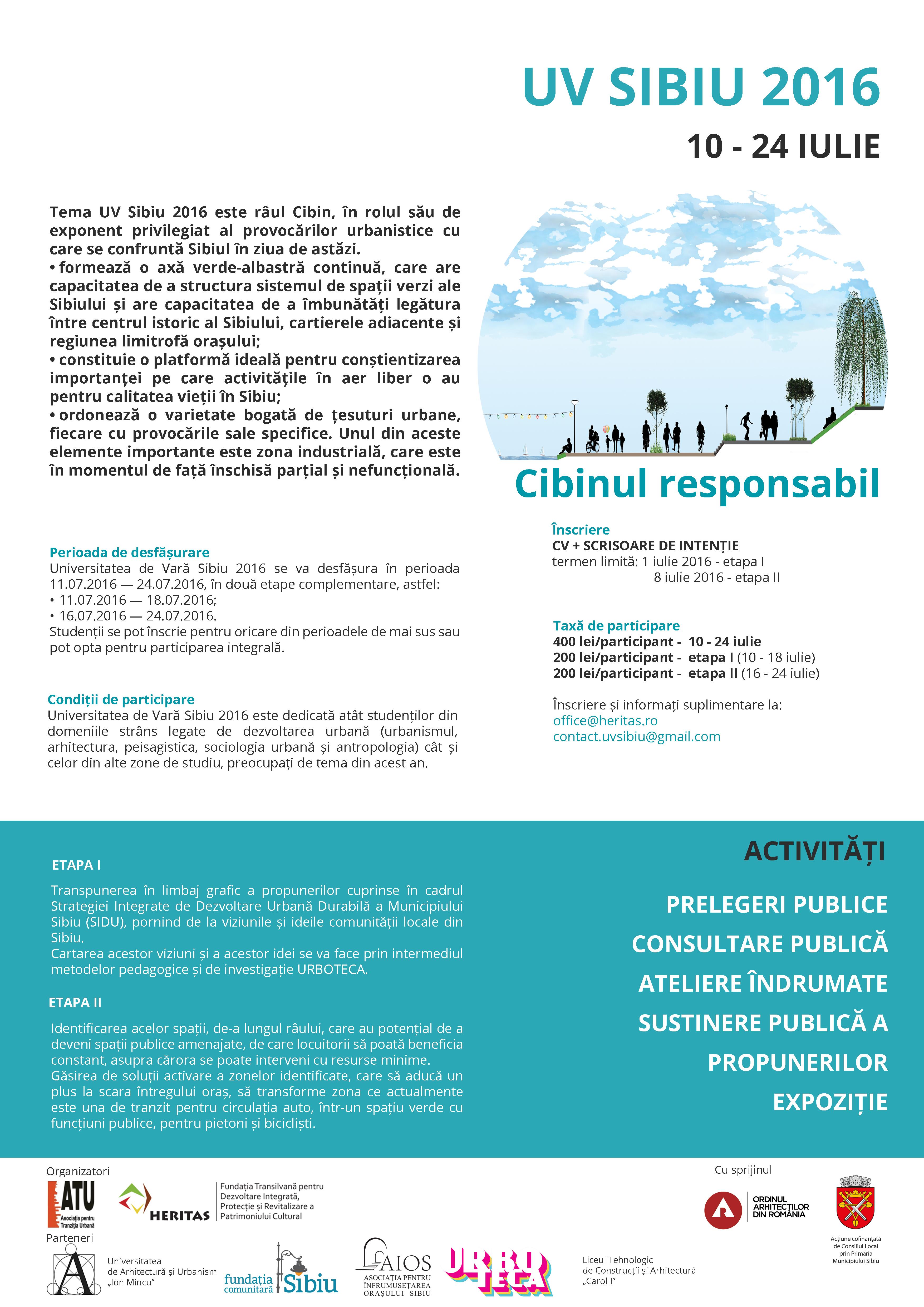 call UV2016 Cibinul Responsabil